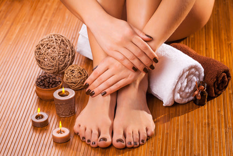 Gel Manicure or Pedicure at Trendz Hair and Beauty