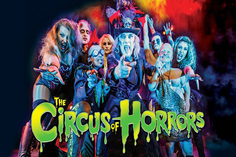 The Circus of Horrors Ticket