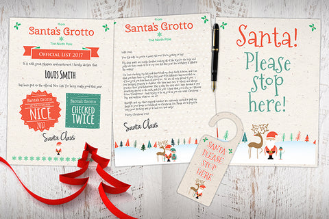 Personal Letter from Santa - Bundle