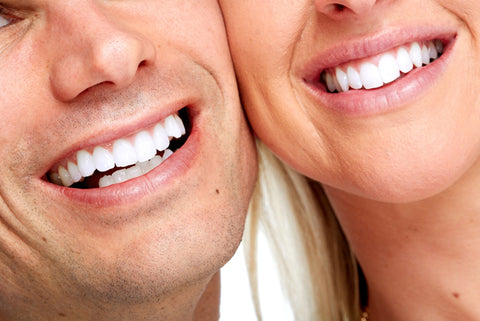 Teeth Whitening Treatment with Air Flow Polish