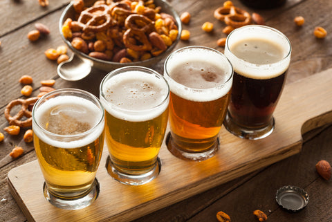 Tutored Beer Tasting with Five Drinks for Two