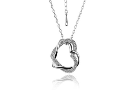 Bonded Hearts Necklace
