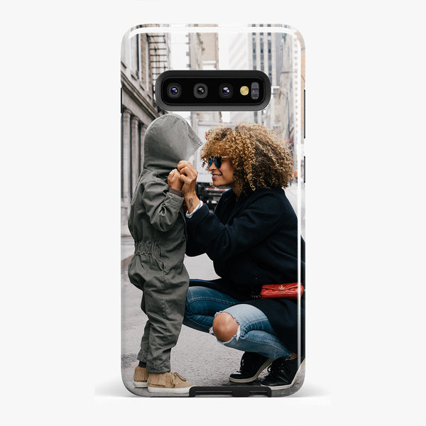 Custom Galaxy S10 Plus Extra Protective Bumper Case - 1-Stop Offers