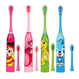 Children Electric Toothbrush Cartoon Pattern - 1-Stop Offers
