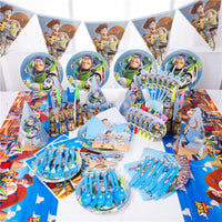 Cartoon Toy Story Birthday Party Theme Decoration Supplies - 1-Stop-Offers