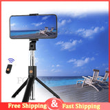 3 in 1 Wireless Bluetooth Selfie Stick Foldable - 1-Stop Offers