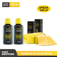 Quick Dry Ceramic Car Coating Nano Paint Care - 1-Stop-Offers