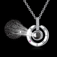 925 Sterling Silver Necklace I LOVE YOU Projection - 1-Stop-Offers