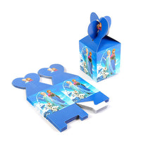 Frozen Party Blue Cartoon Characters Themes Birthday Party Decorations - 1-Stop Offers