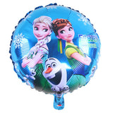 Frozen Party Blue Cartoon Characters Themes Birthday Party Decorations - 1-Stop-Offers