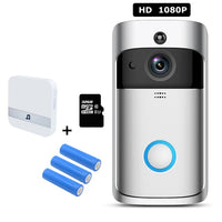 WIFI Doorbell Smart IP Video Intercom Video Door Bell Camera - 1-Stop Offers