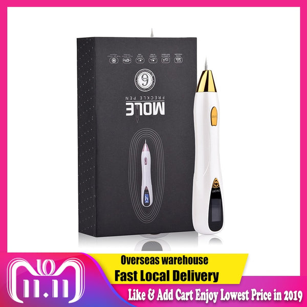 Skin Care Laser Mole Tattoo Freckle Removal Pen LCD - 1-Stop Offers