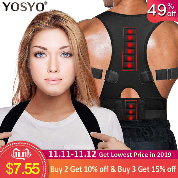 Brace Shoulder Back Support Belt - 1-Stop-Offers