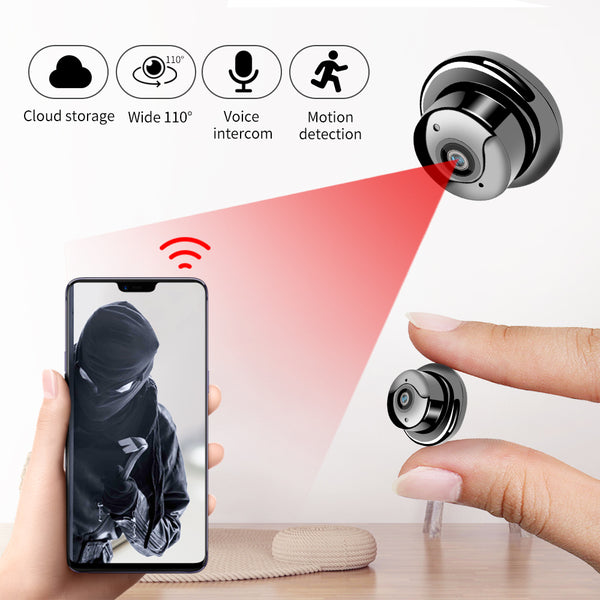 1080P Wireless Mini WiFi Camera Home Security Camera P2P - 1-Stop-Offers