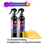 Crystal Ceramic Car Coating Paint Care - 1-Stop-Offers