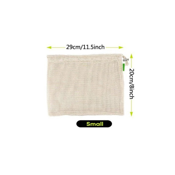Reusable Produce Bags,Eco-Friendly,100% Organic Cotton - 1-Stop Offers