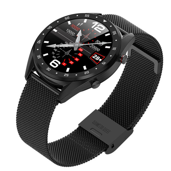 Bluetooth Smart Watch L7 Heart Rate ECG+PPG Blood Pressure Monitor - 1-Stop Offers