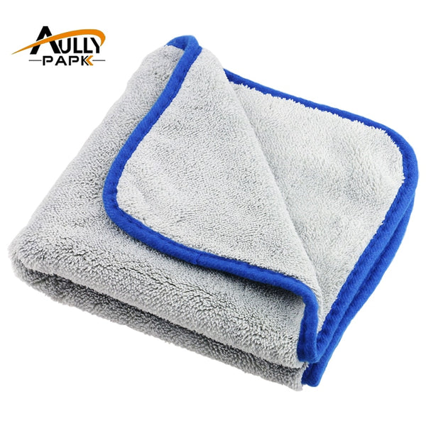 Car Care Polishing Super Thick Plush Microfiber - 1-Stop-Offers