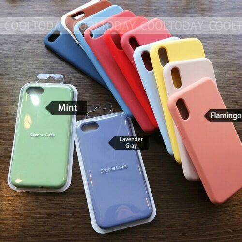 Luxury Original Official Silicone LOGO Case For iPhone5 6 7 8 Plus X XS Max XR  | eBay - 1-Stop-Offers