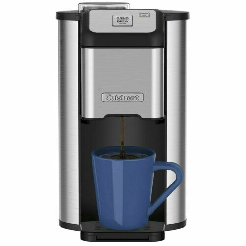 Cuisinart Single Cup Grind & Brew Coffee Maker w/ Water Filter, Stainless Steel 86279078506 | eBay - 1-Stop Offers