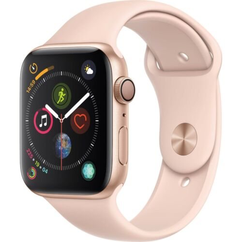 Apple Watch Series 4 GPS 40mm Gold Case with Pink Sport Band MU682LL/A 190198842206 | eBay - 1-Stop-Offers
