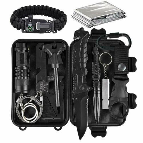 11 in 1 EDC Outdoor Camping Military Survival Gear Kits Box Emergency Kit Tool  745302706365 | eBay - 1-Stop-Offers
