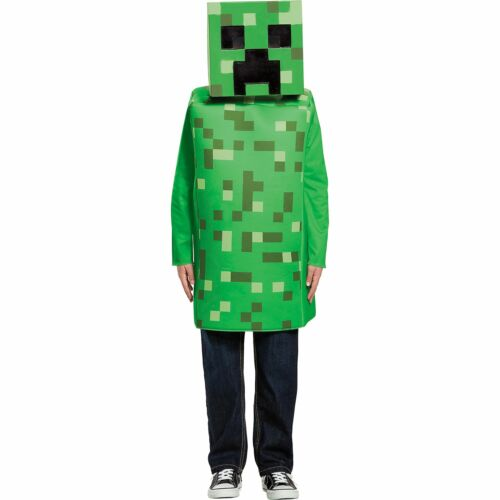 Creeper Minecraft Halloween Costume for Boys, Medium, with Accessories 39897656427 | eBay - 1-Stop Offers
