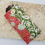 Load image into Gallery viewer, Ivy Green & Pink Floral Glasses Case
