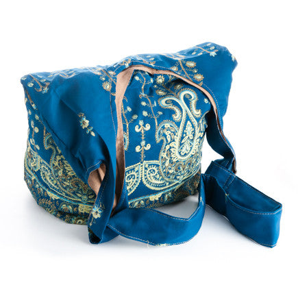 Sari Market Bag - Cross Body (Ocean Depths)