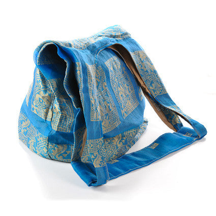 Sari Market Bag - Single Shoulder (Ocean Depths)