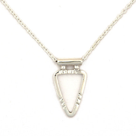 Necklace: Sterling Silver Arrowhead