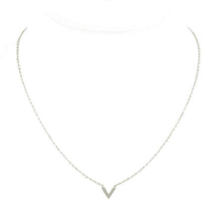 Necklace: Sterling Silver Teepee