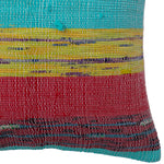 Load image into Gallery viewer, Recycled Vintage Saree Pillow Cover - Square