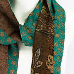 Load image into Gallery viewer, Vintage Kantha Saree Scarf (Sand Dunes)