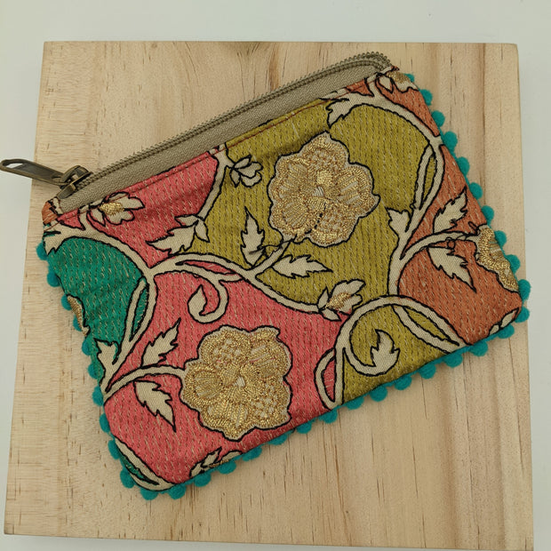 Embroidered Change Purse 1