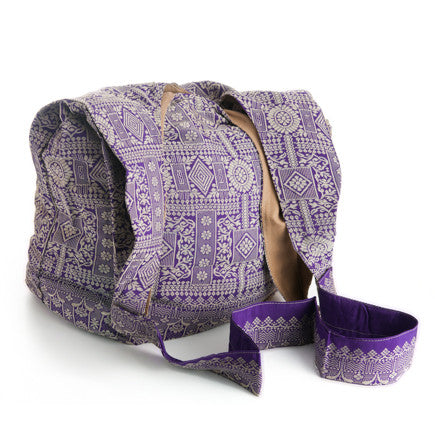 Sari Market Bag - Cross Body (Mixed Berry)