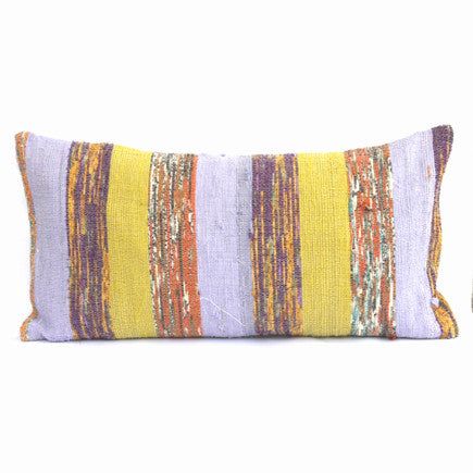 Recycled Vintage Sari Pillow - Lumbar