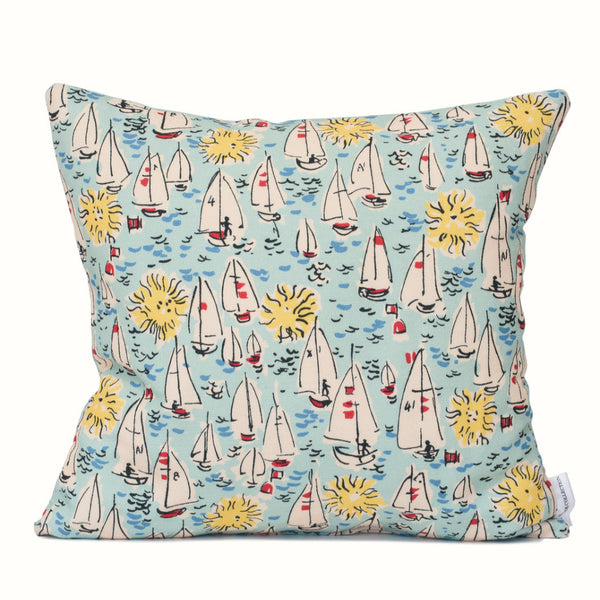 Sailing Boats Cushion Cover