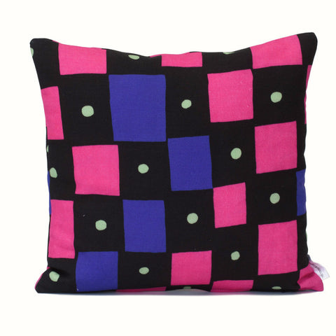 Graphic Squares Cushion Cover