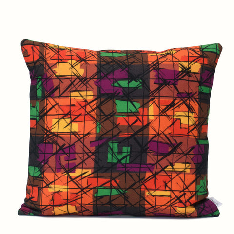 Stainglass Geo Cushion Cover