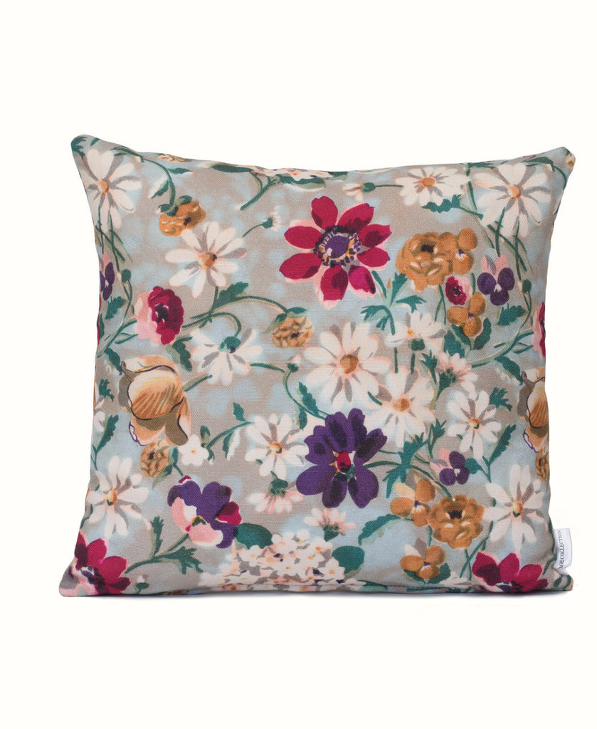 Vintage Flowers Cushion Cover