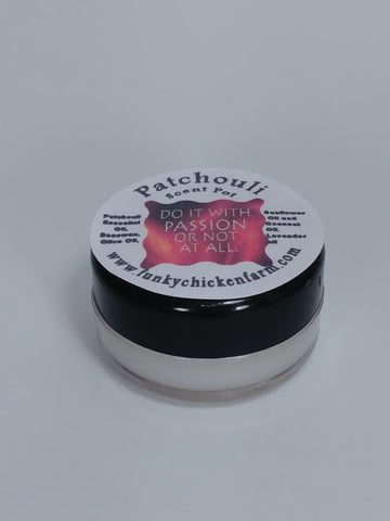 Patchouli Balm with Lavender Smaller 1/3 oz Size