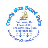 Crusty Man Beard Balm Scent Pot 1/3 oz size