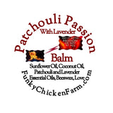 Patchouli Balm with Lavender