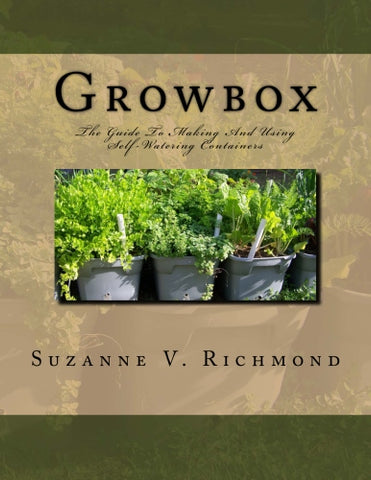 Growbox: Guide to Building and Using Self-Watering Containers BOOK
