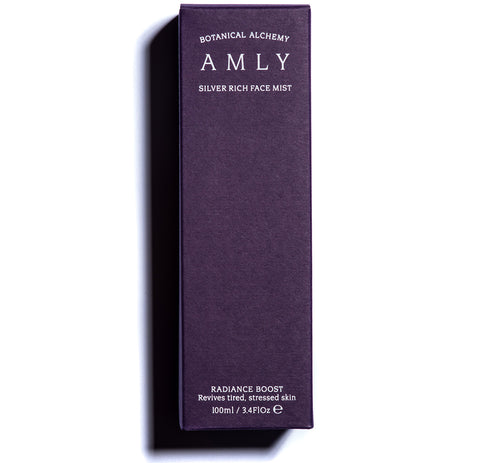 AMLY Botanicals Radiance Boost Silver Rich Face Mist, 100ml