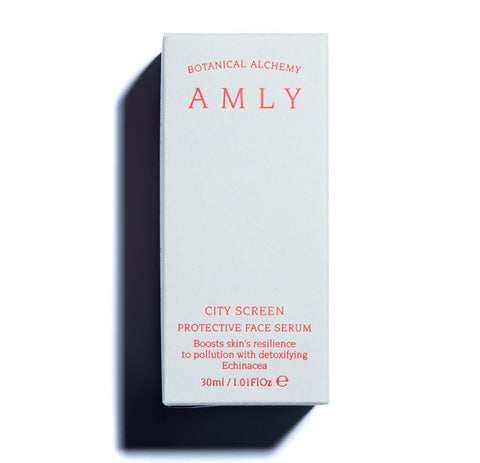 AMLY Botanicals City Screen Face Serum, 30ml