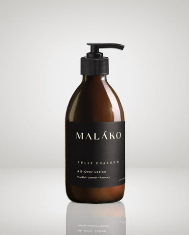 MALĀKO FULLY CHARGED All Over Body Lotion, 250ml
