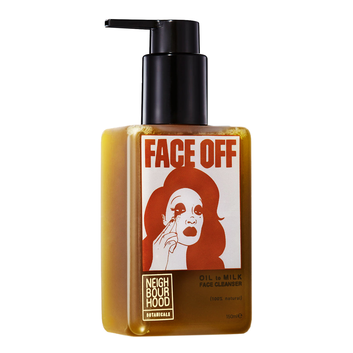 Neighbourhood Botanicals Face Off Oil to Milk Facial Cleanser, 150ml