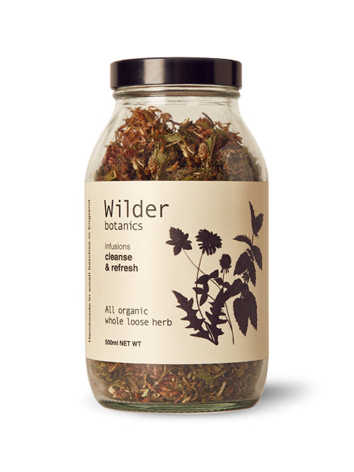 Wilder Botanics Cleanse and Refresh Tea Infusion, 500ml